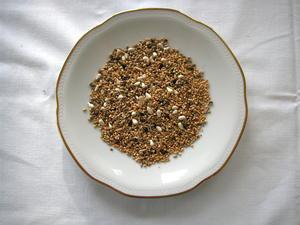 Parakit Fröblandning utan solrosfrö, 1 kg